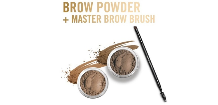 bareminerals brow powder - the right size image