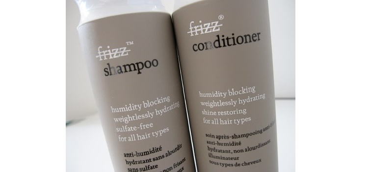 Living Proof No-Frizz Shampoo and Conditioner