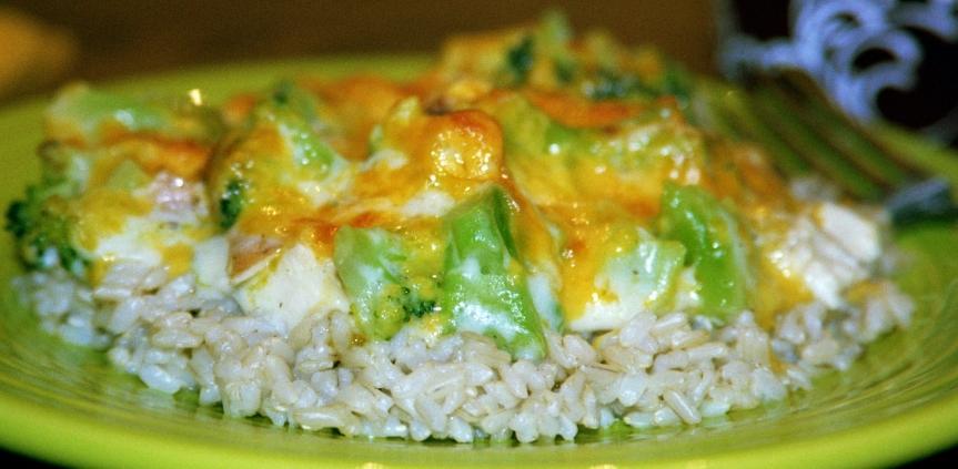 Chicken and BroccoliCasserole