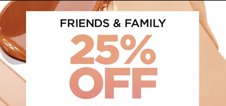 IT Cosmetics Friends and Family Sale! (expired)