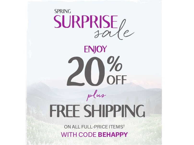Coldwater Creek 20% Off Plus Free Shipping!(expired)
